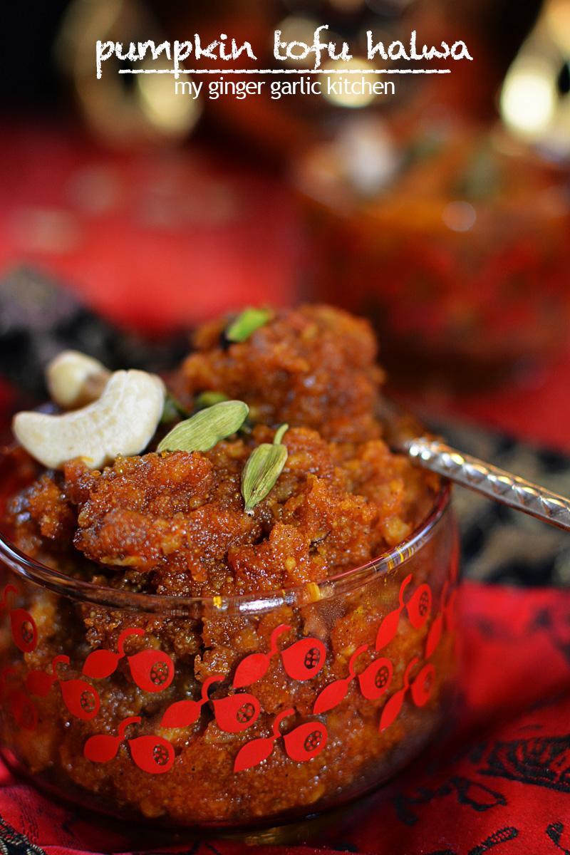 Image - recipe pumpkin tofu jalwa anupama paliwal my ginger garlic kitchen 10 copy1