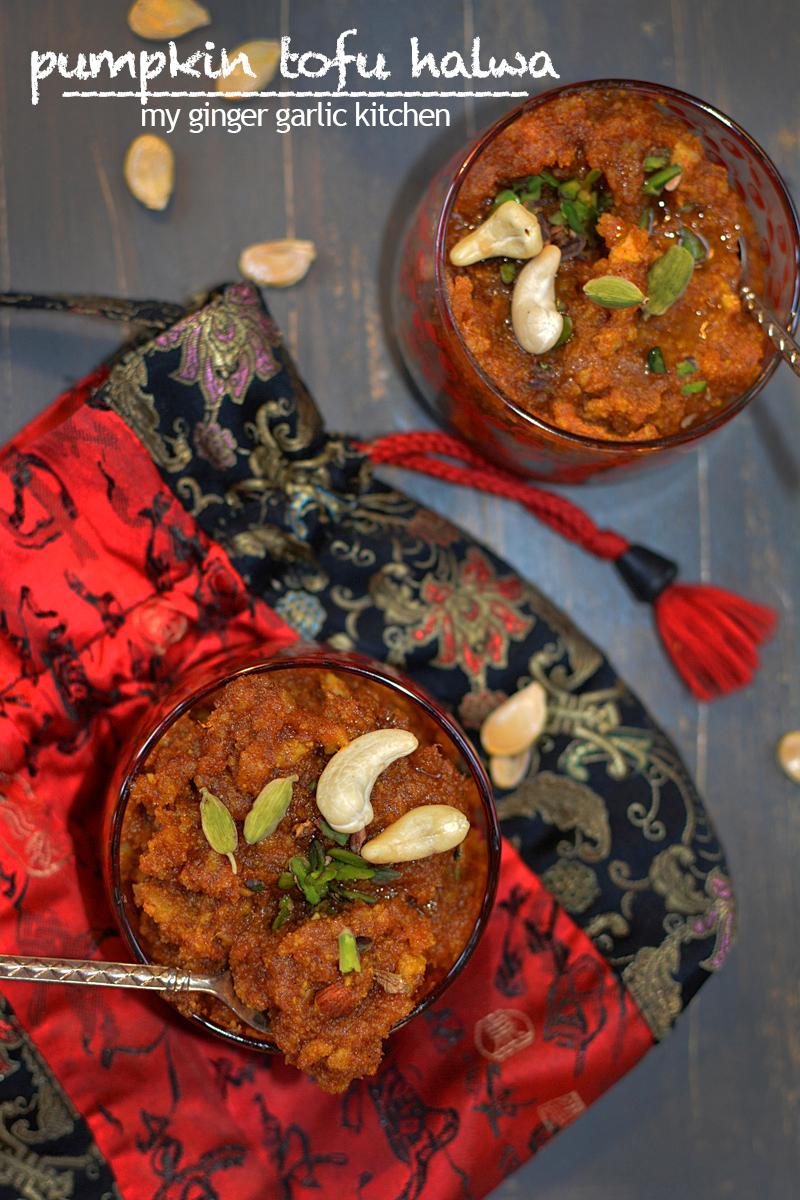 Image - recipe pumpkin tofu jalwa anupama paliwal my ginger garlic kitchen 12 copy1