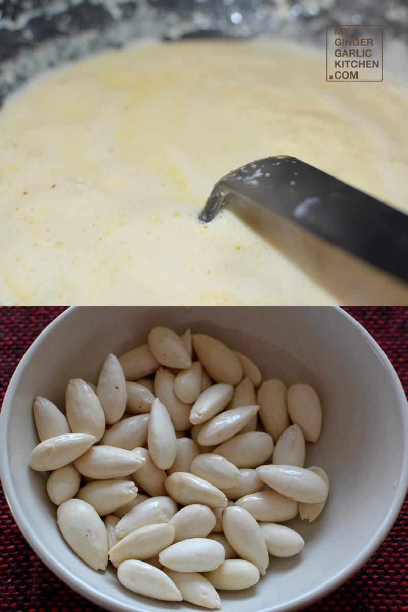 Image - recipe almond rose rabri with a dash of saffron anupama paliwal my ginger garlic kitchen 2