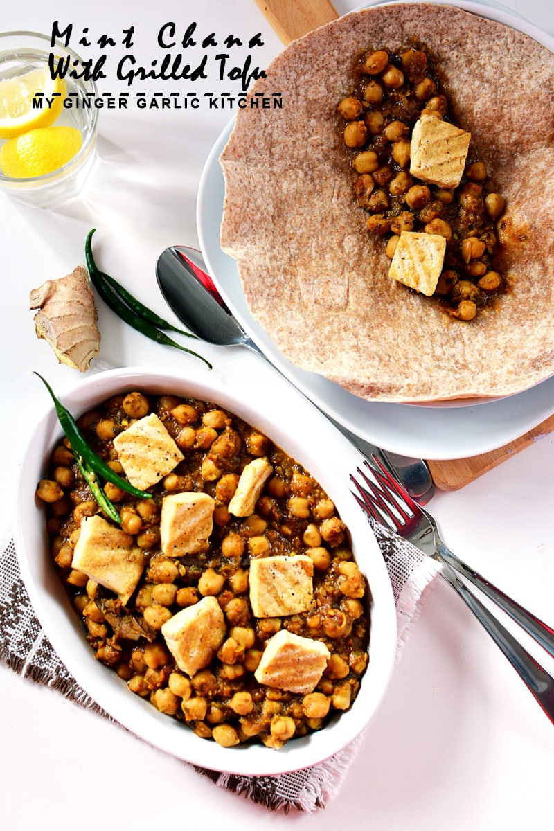 Image of Mint Chana With Grilled Tofu 8