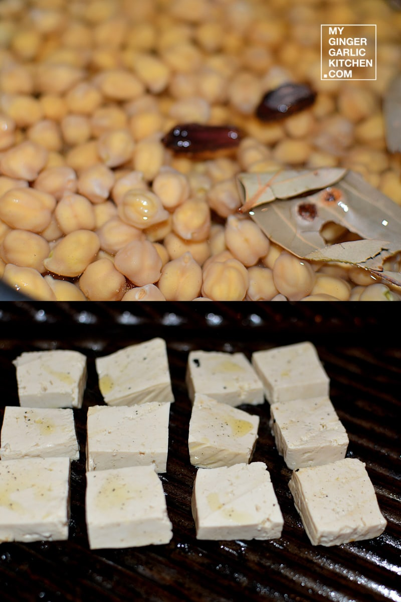 Image of Mint Chana With Grilled Tofu 5