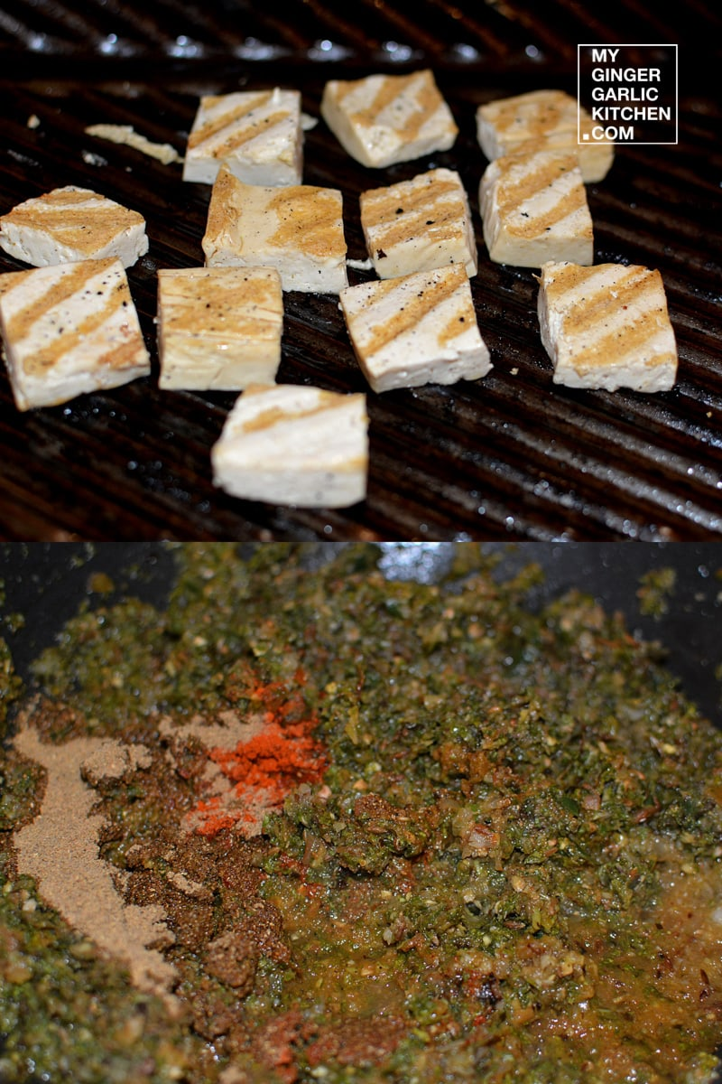 Image of Mint Chana With Grilled Tofu 6