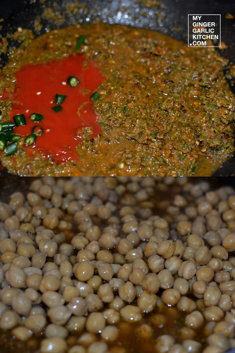 Image of Mint Chana With Grilled Tofu 7