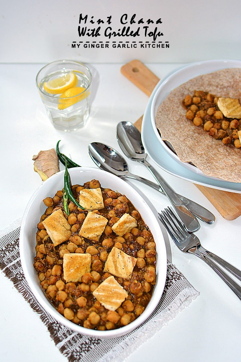 Image of Mint Chana With Grilled Tofu 9