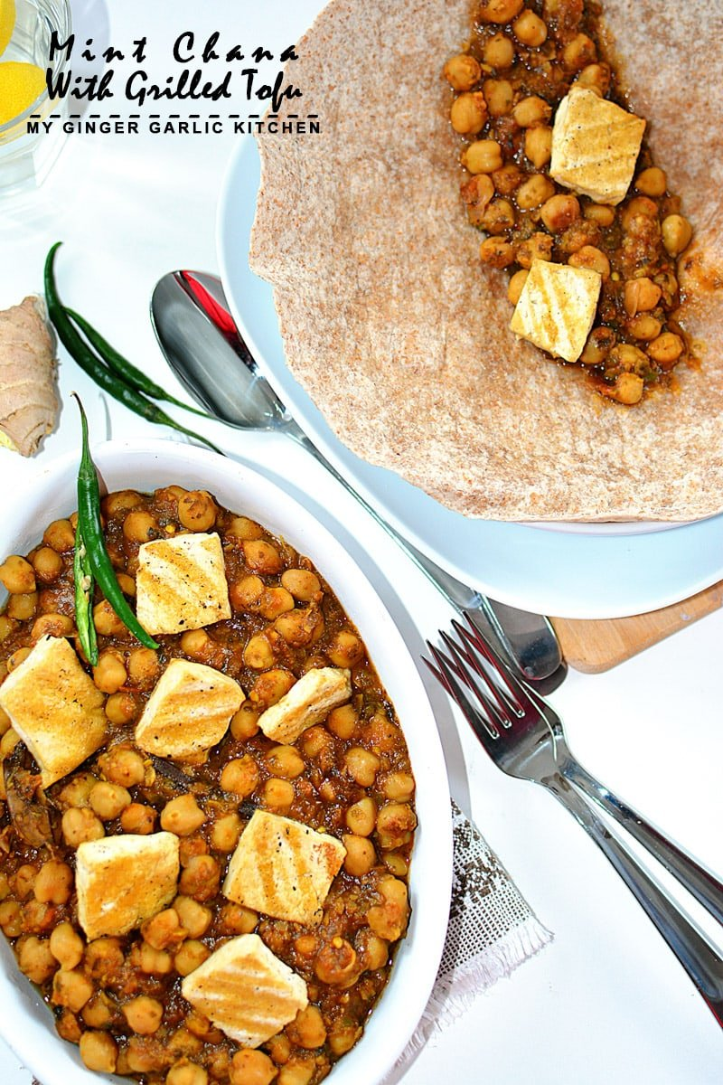 Image of Mint Chana With Grilled Tofu 2