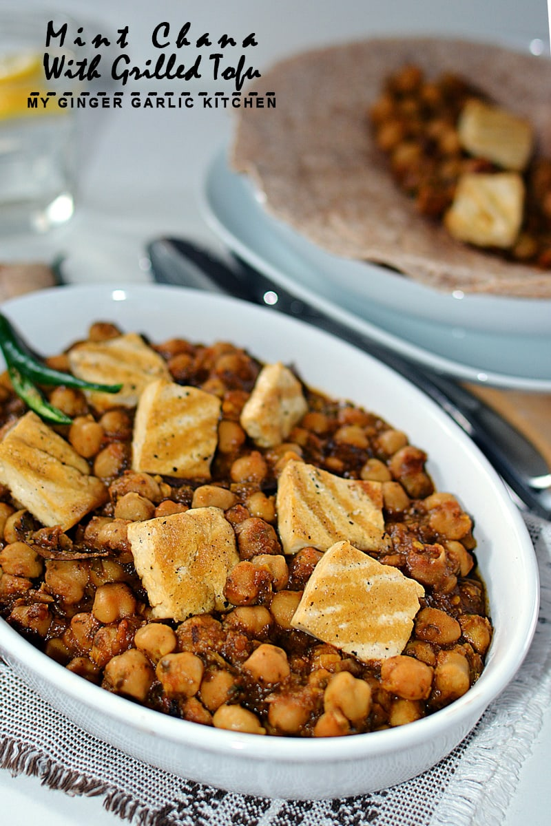 Image of Mint Chana With Grilled Tofu 3