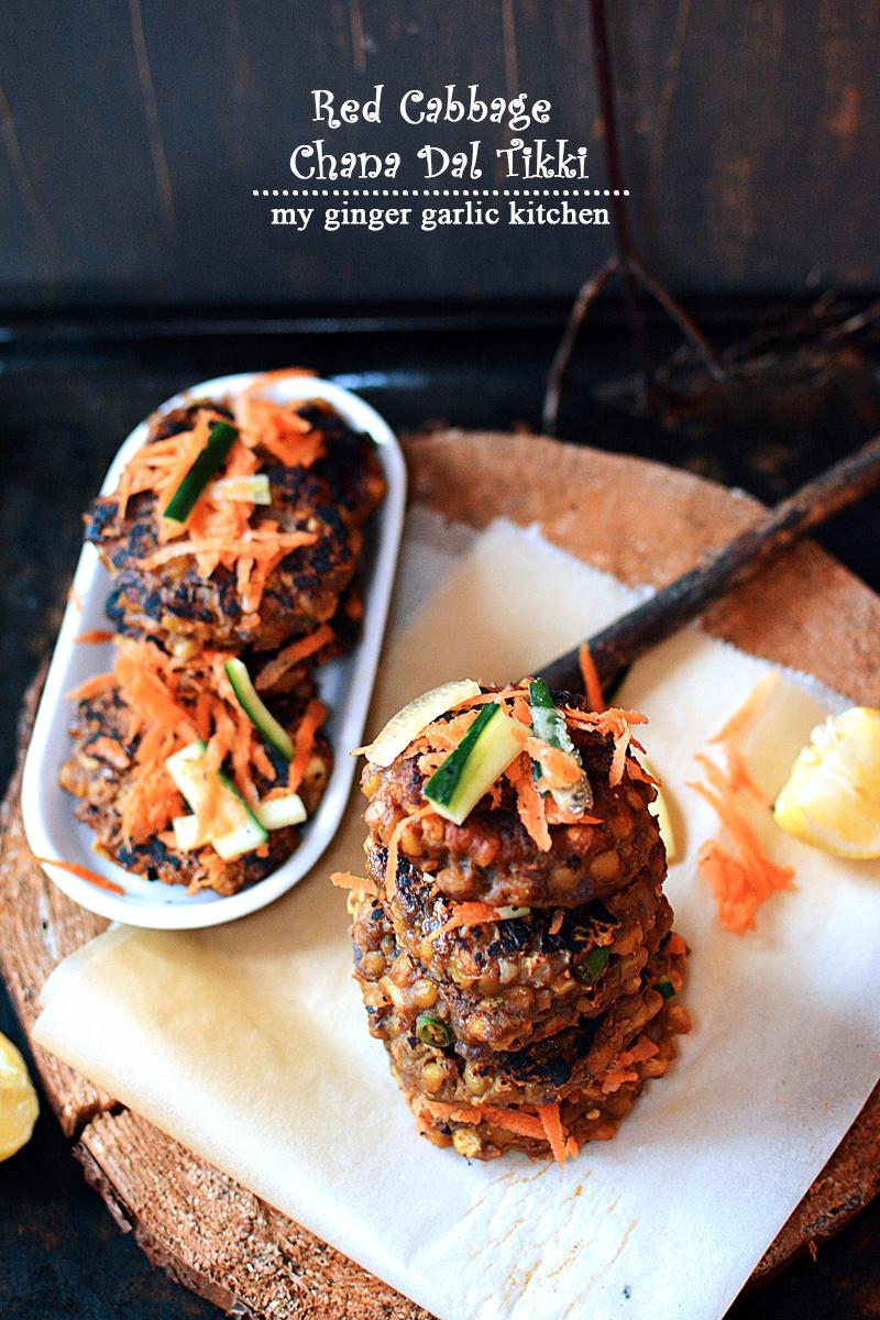 recipe-red-cabbage-chana-dal-tikki-anupama-paliwal-my-ginger-garlic-kitchen-7