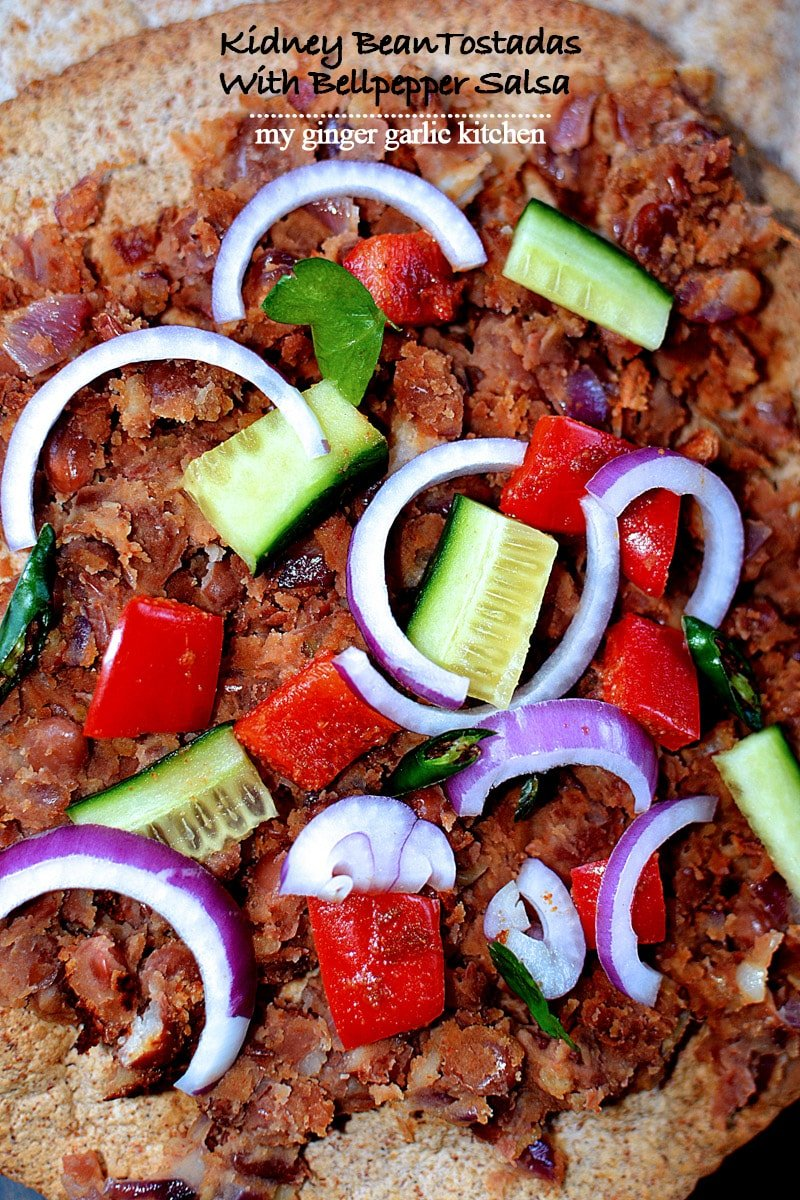 recipe-wholewheat-kidneybean-tostadas-with-bellpepper-salsa-anupama-paliwal-my-ginger-garlic-kitchen-9
