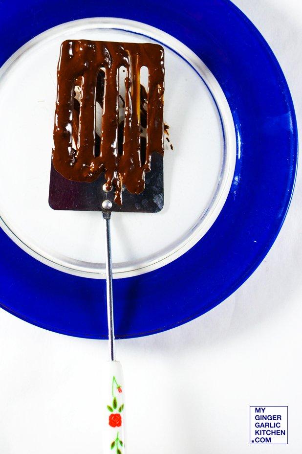 Image of Chocolate Spatula for Perfect Experience. [Stock Photo]