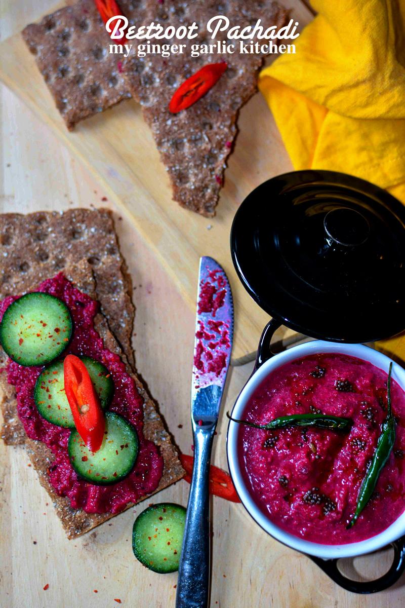 Image - recipe beetroot pachadi kreala style anupama paliwal my ginger garlic kitchen 7
