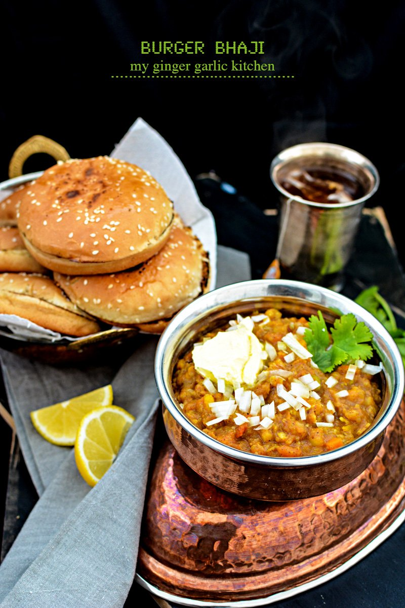 Image of Vegetable Bhaji Burger