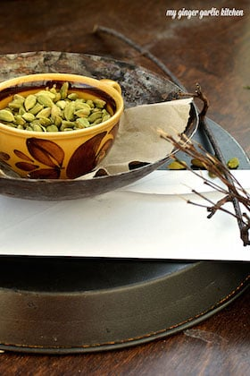 Image of Cardamom pods are full of joy. If you love this aroma, you will this moment. [Stock Photo]