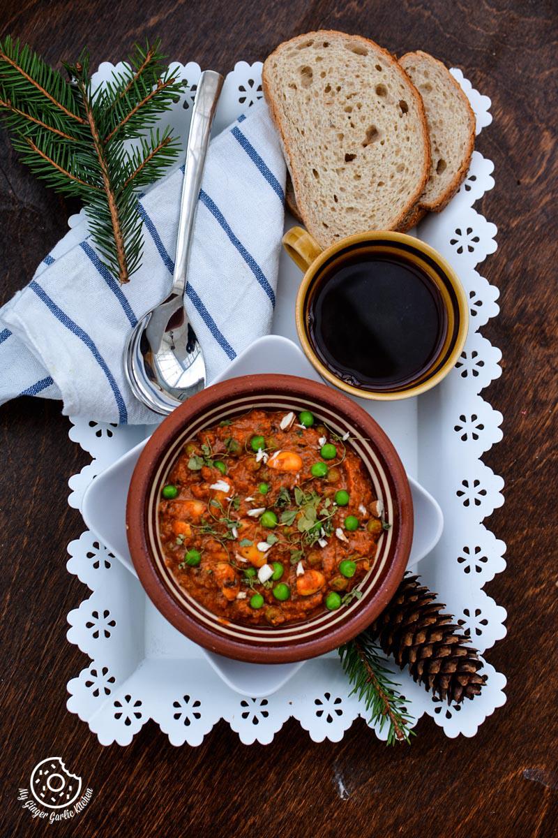 recipe-almond-peas-curry-anupama-paliwal-my-ginger-garlic-kitchen-1   https://www.mygingergarlickitchen.com/ @anupama_dreams
