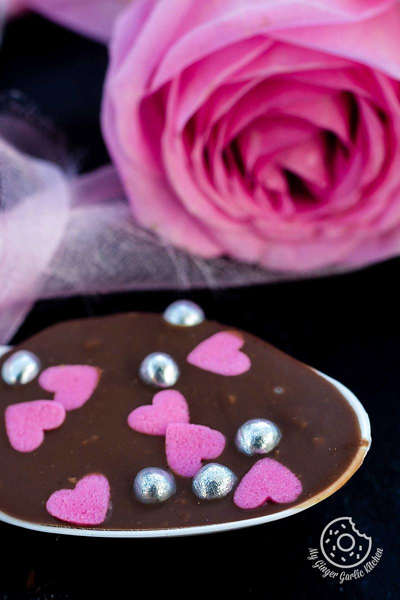 Image - recipe chocolate spoons anupama paliwal my ginger garlic kitchen 1 683x1024