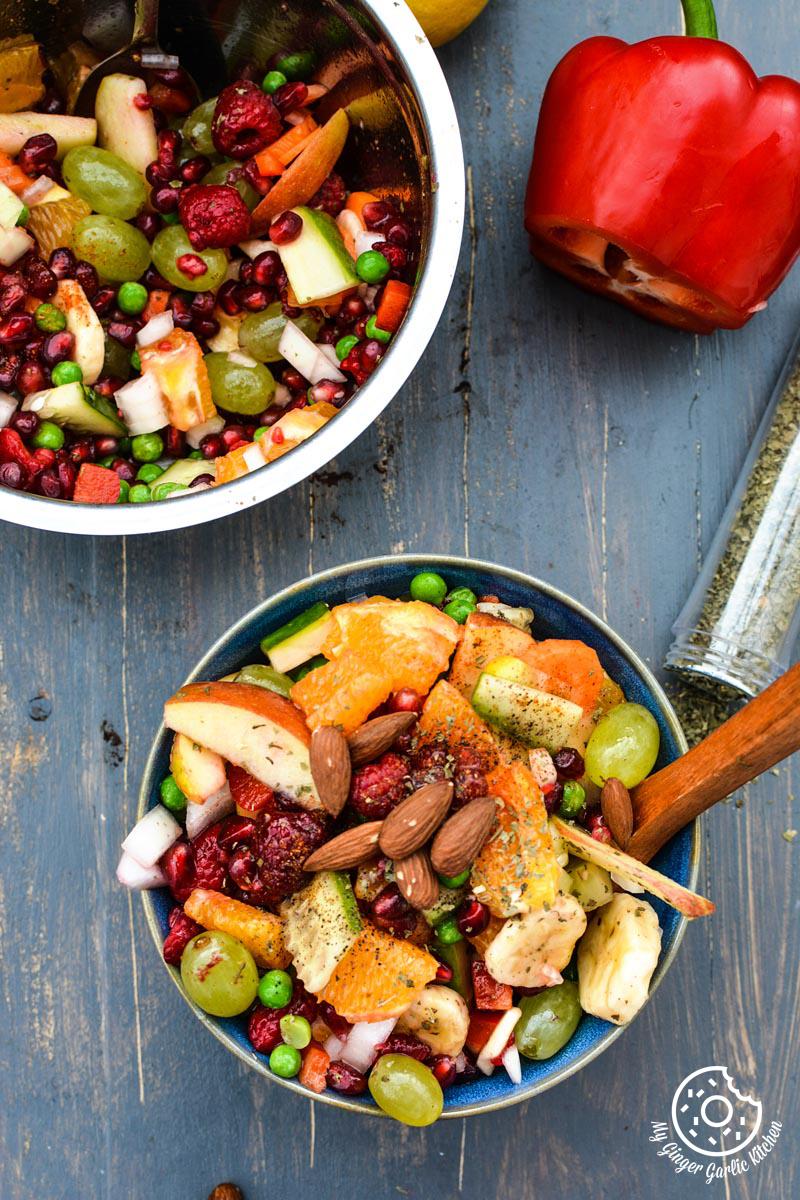 recipe-fruits-and-vegetable-fiesta-salda-with-honey-pepper-dressing-anupama-paliwal-my-ginger-garlic-kitchen-2  https://www.mygingergarlickitchen.com/ @anupama_dreams