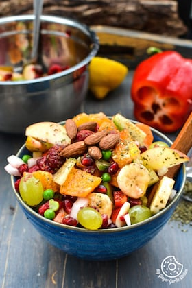 Image of Fruits and Vegetables Fiesta Salad