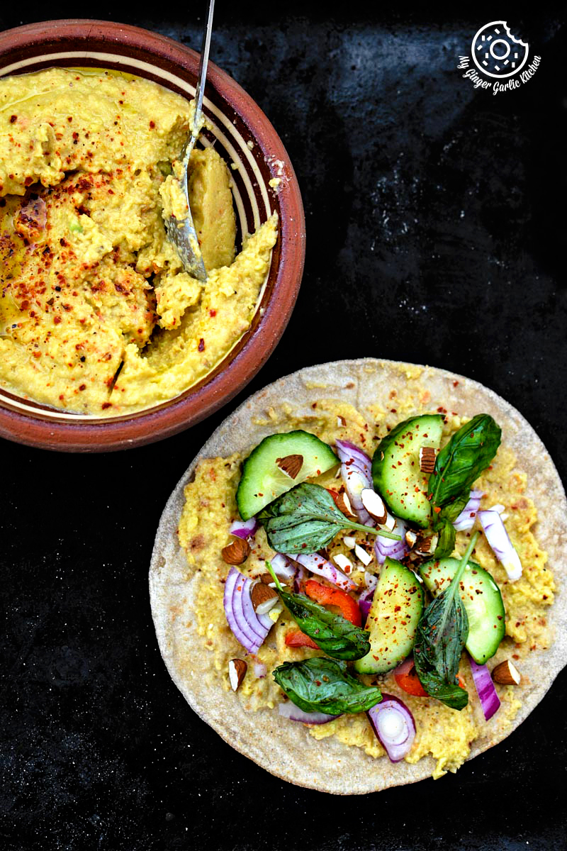 Image - recipe Indian chapati with peppery garlicky avacado Spread anupama paliwal my ginger garlic kitchen 101 683x1024