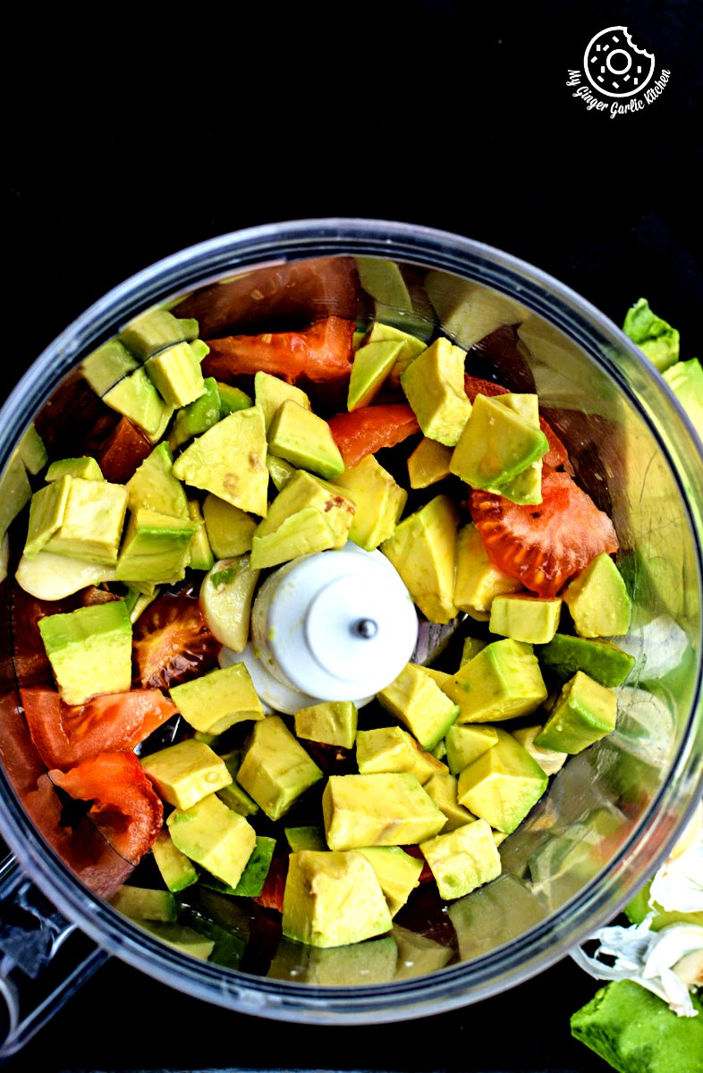 Indian-chapati-with-peppery-garlicky-avacado-Spread|mygingergarlickitchen.com/ @anupama_dreams