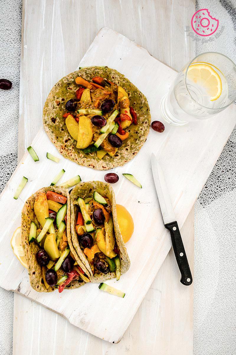 Image - recipe broccoli paratha with garlic roasted veggies and spiced coconut sauce anupama paliwal my ginger garlic kitchen 5 copy1 683x1024