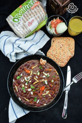 Image of Rajma Masala - Spiced Kidney Beans in Tomato Rich Gravy