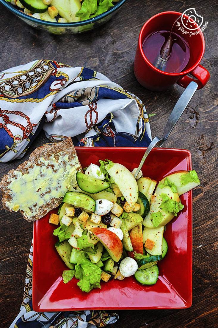 recipe-apple-cucumber-mozzarella-pearls-salad mygingergarlickitchen.com/ @anupama_dreams
