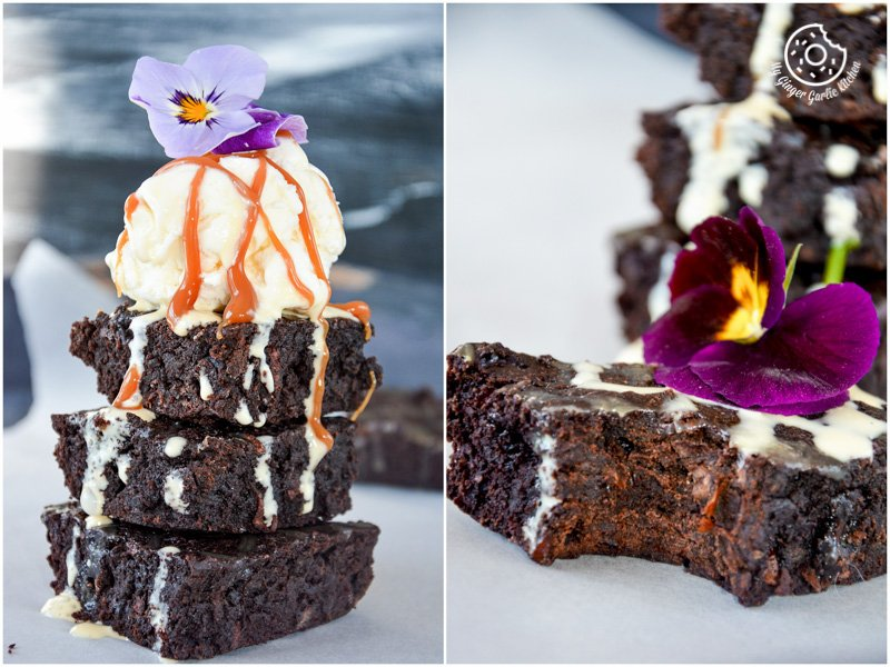 recipe-carrot-brownies|mygingergarlickitchen.com/ @anupama_dreams