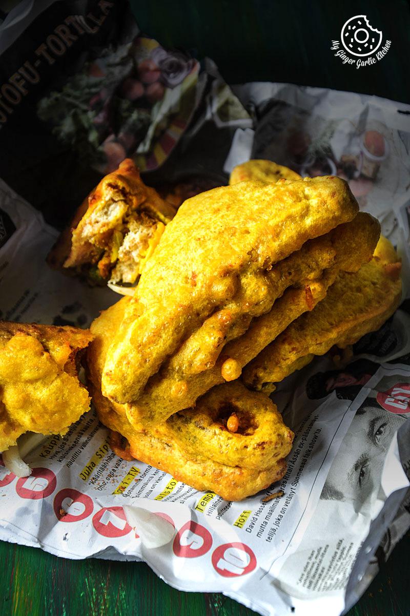 recipe-potato-stuffed-bread-pakora mygingergarlickitchen.com/ @anupama_dreams