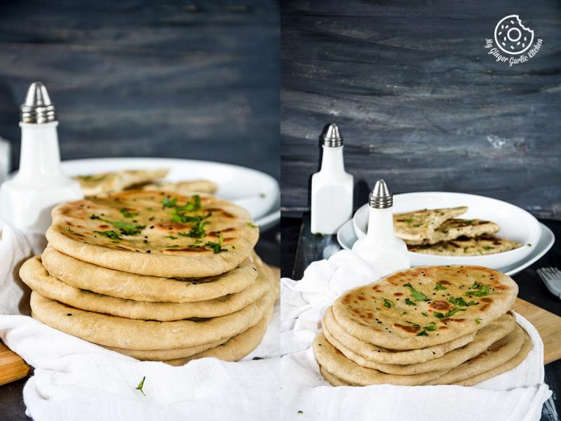 recipe-yeast-free-whole-wheat-naan|mygingergarlickitchen.com/ @anupama_dreams