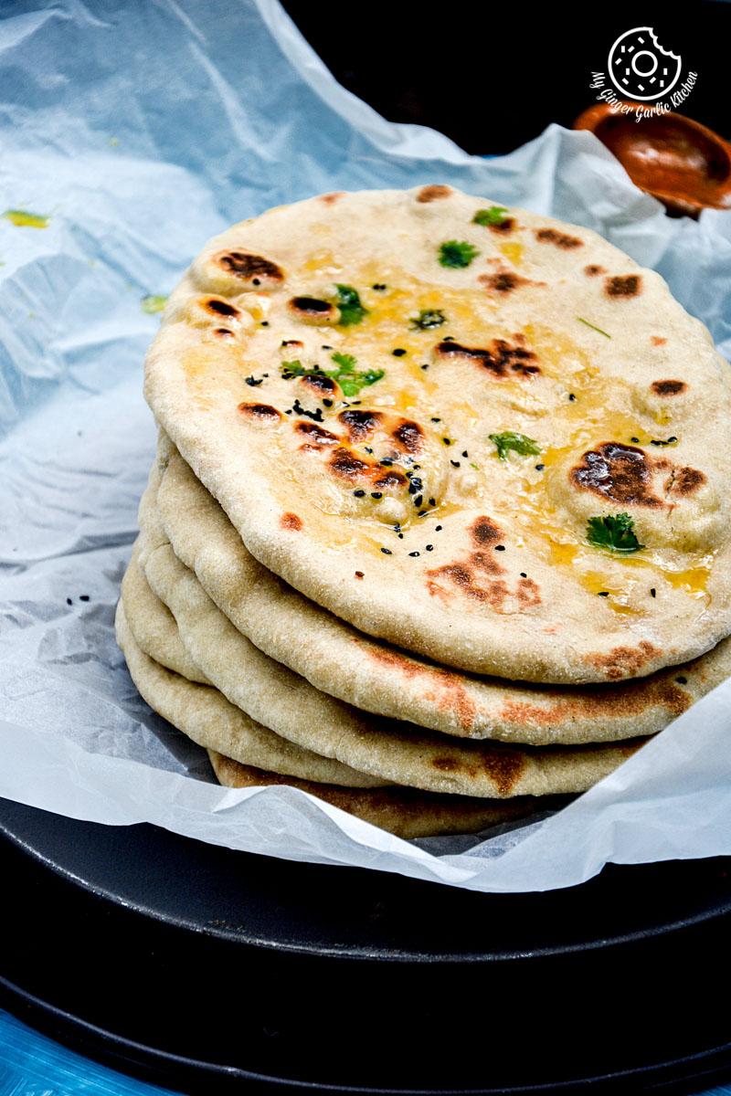 recipe-yeast-free-whole-wheat-naan mygingergarlickitchen.com/ @anupama_dreams