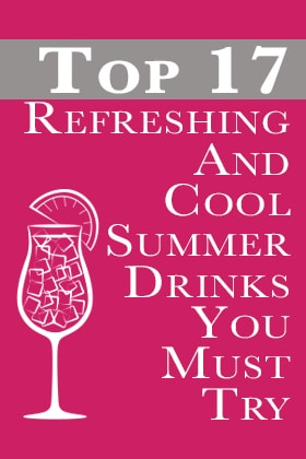 Image of Top 17 Refreshing Summer Drinks to try