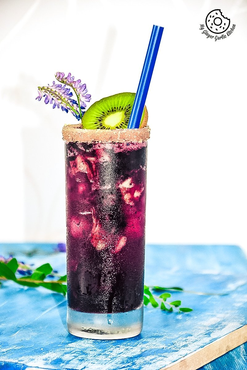 recipe-blubeberry-kiwi-cooler|mygingergarlickitchen.com/ @anupama_dreams