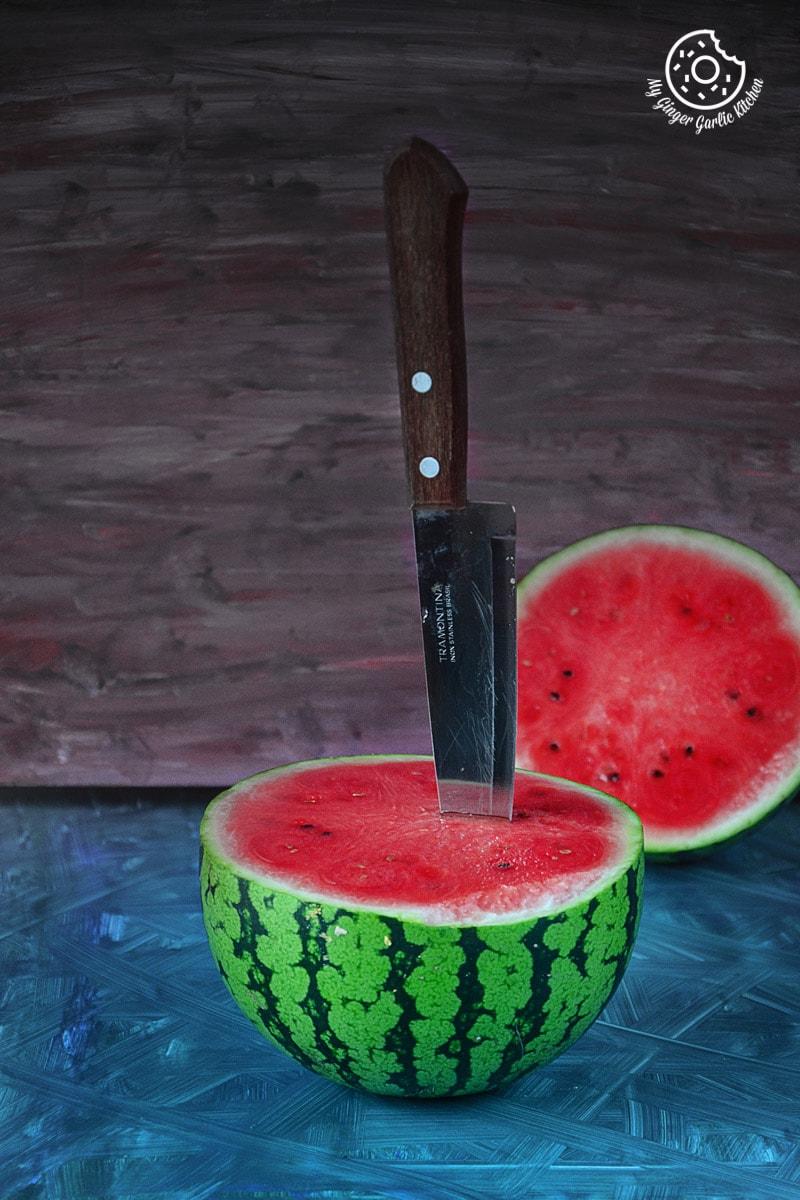 Image - recipe green tea watermelon detox smoothie anupama paliwal my ginger garlic kitchen 1 1 683x1024