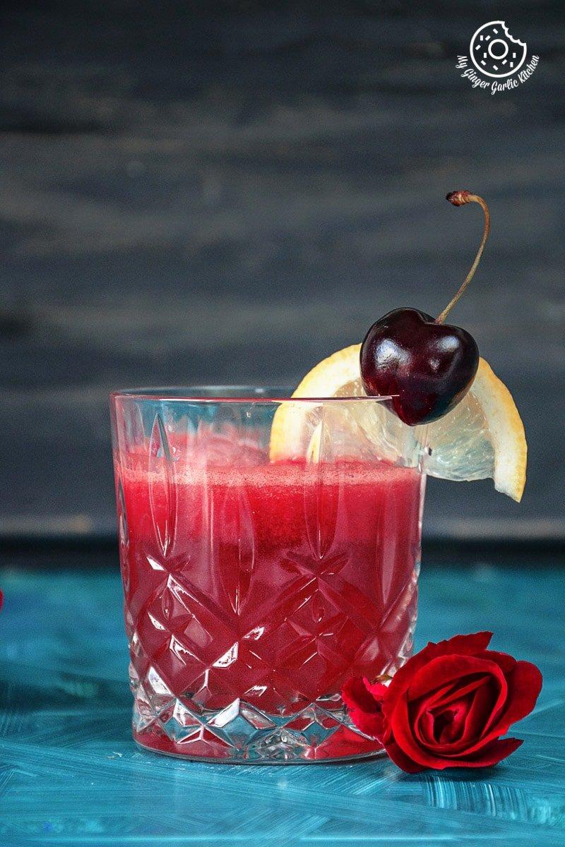 recipe-green-tea-watermelon-detox-smoothie|mygingergarlickitchen.com/ @anupama_dreams