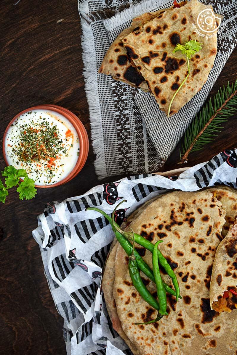 recipe-pepper-onion-potato-paratha-anupama-paliwal-my-ginger-garlic-kitchen-5