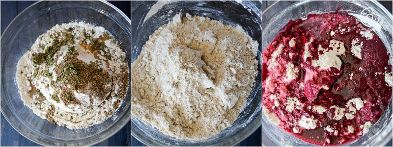 recipe-Spiced-Fenugreek-Baked-Beet-Mathri|mygingergarlickitchen.com/ @anupama_dreams
