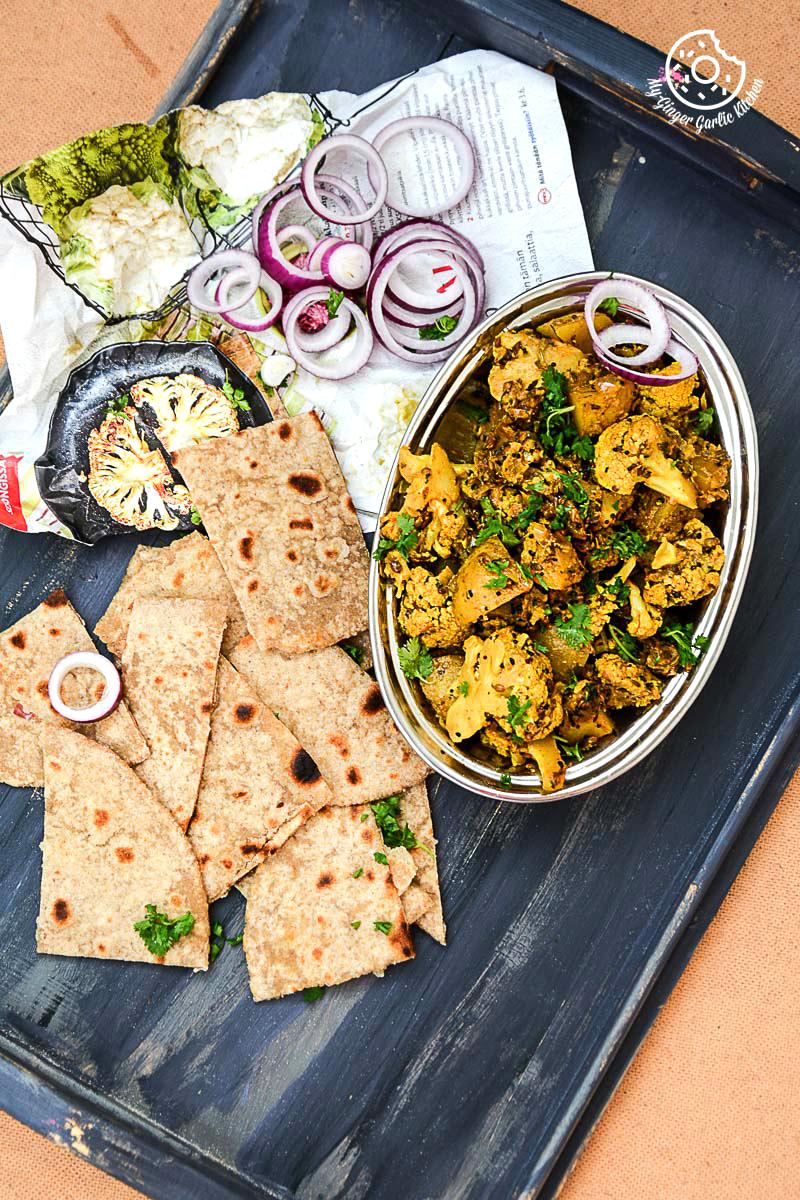 recipe-achaari-aloo-gobi|mygingergarlickitchen.com/ @anupama_dreams