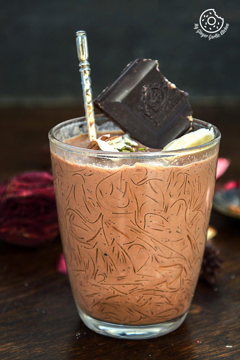 recipe-chocolate-vermicelli-kheer|mygingergarlickitchen.com/ @anupama_dreams