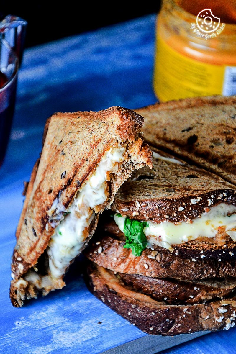 Image - recipe spiced potato cheese sandwich with Cheese anupama paliwal my ginger garlic kitchen 12 683x1024