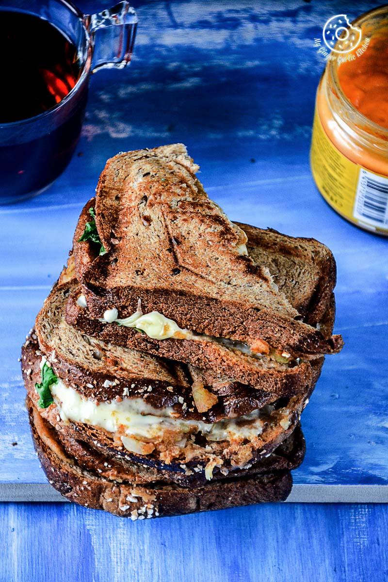 Image - recipe spiced potato cheese sandwich with Cheese anupama paliwal my ginger garlic kitchen 13 683x1024