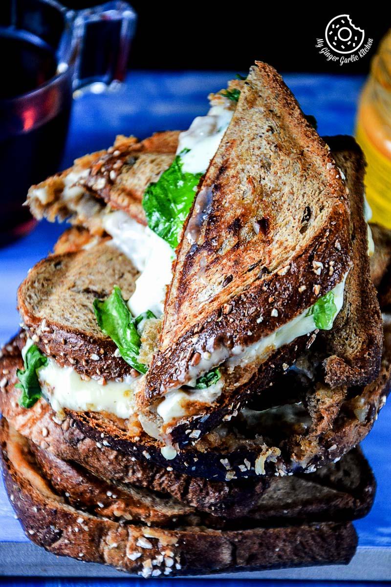 Image - recipe spiced potato cheese sandwich with Cheese anupama paliwal my ginger garlic kitchen 7 683x1024