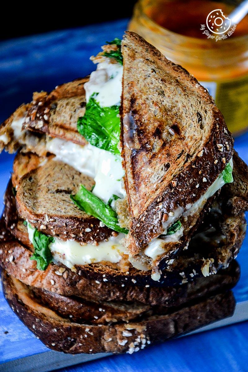 Image - recipe spiced potato cheese sandwich with Cheese anupama paliwal my ginger garlic kitchen 8 683x1024