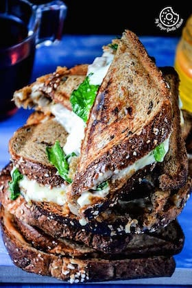 Image of Grilled Cheese Spiced Potato Sandwich