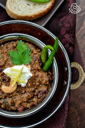 Image of 3 Bean Thick Dal Makhani - 3 Bean Curry