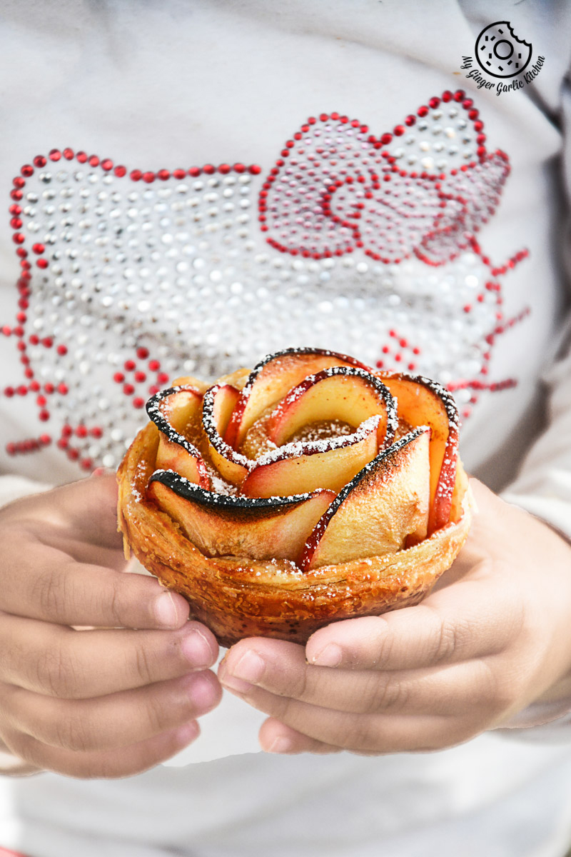 recipe-Apple-Rose-Mini-Tartlets|mygingergarlickitchen.com/ @anupama_dreams