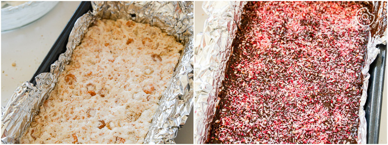 recipe-Toasted-Coconut-Sesame-Rice-Krispie-and-Multigrain-Cheerios-Dark-Chocolate-Bars|mygingergarlickitchen.com/ @anupama_dreams