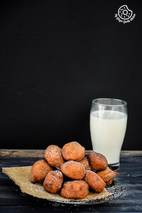 Image of 5 Ingredient Pumpkin Fritters - Pumpkin Gulgule