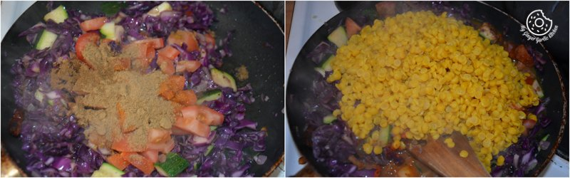 recipes-Red-Cabbage-Zucchini-Chana-Dal|mygingergarlickitchen.com/ @anupama_dreams