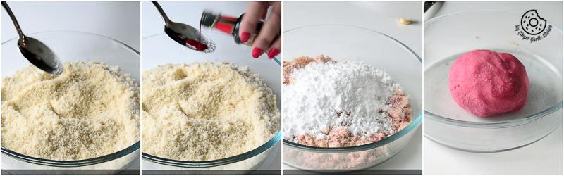 recipes-No-Bake-Almond-Flowers mygingergarlickitchen.com/ @anupama_dreams