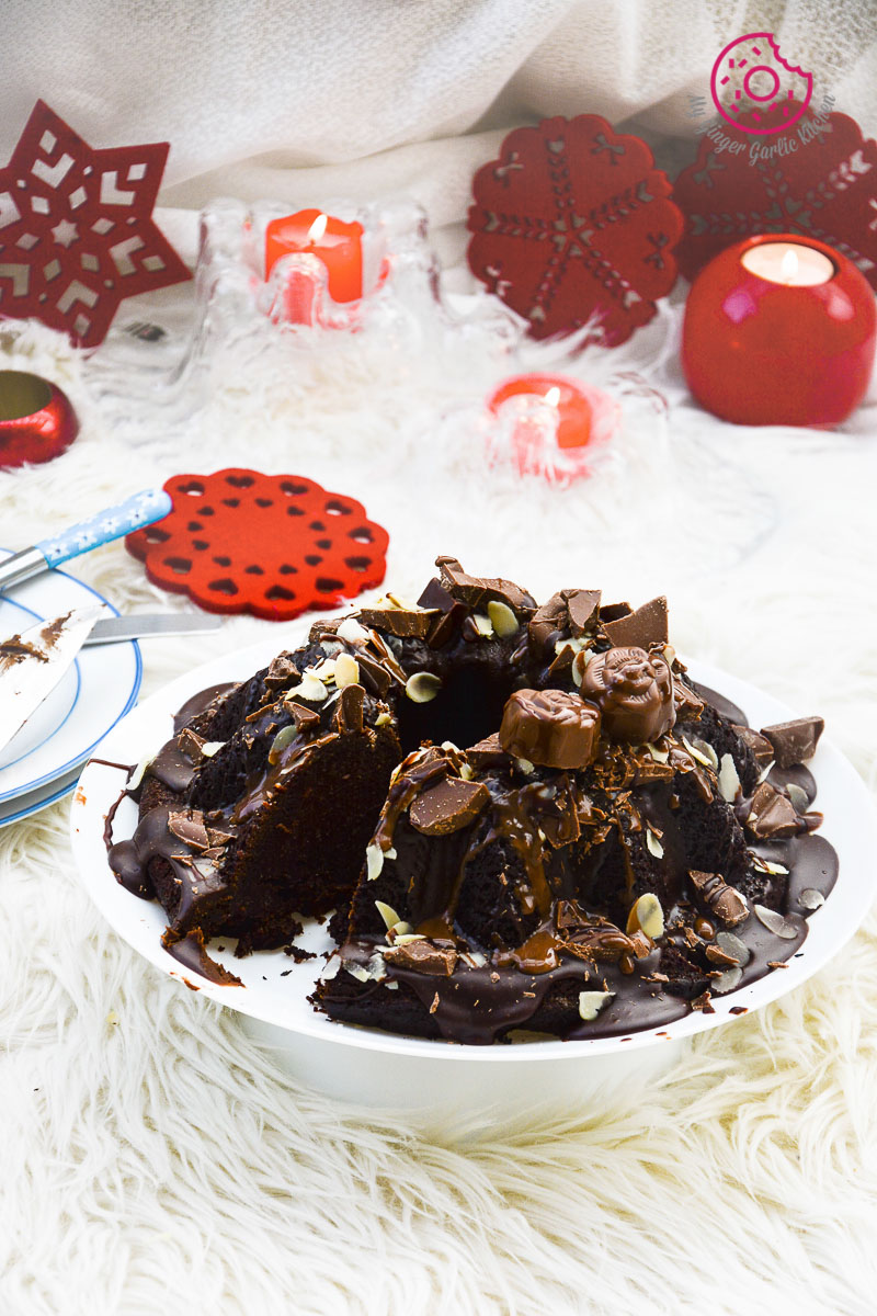 Persimmon-Chocolate-Bundt-Cake|mygingergarlickitchen.com/ @anupama_dreams