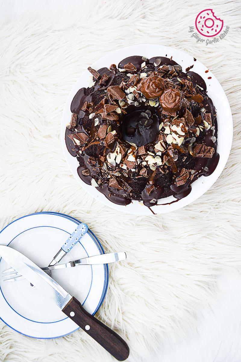 Persimmon-Chocolate-Bundt-Cake mygingergarlickitchen.com/ @anupama_dreams